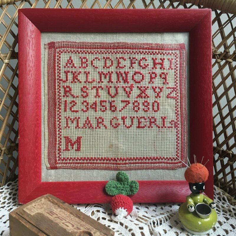 abecedaire marquoir