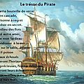 Le trésor du pirate