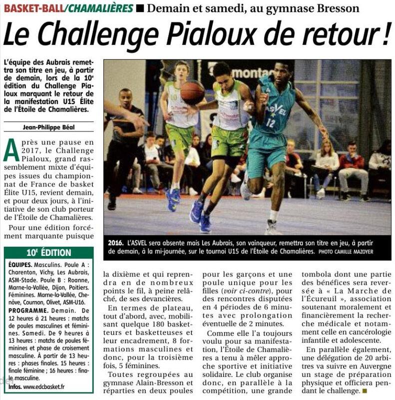 18-01-04 U15G1 au Challenge Pialoux