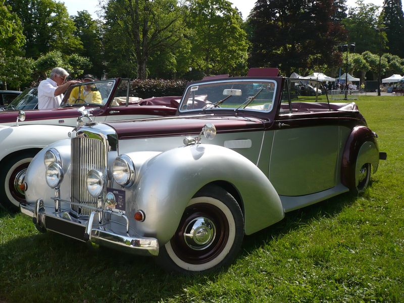 alvis ta21 drophead coup 1952 lons le saunier 1 photo de 053 9e mobil 39 r tro lons le. Black Bedroom Furniture Sets. Home Design Ideas
