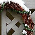 Couronne et neige