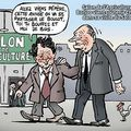 Chirac et borloo font leur tournée au salon de l'agriculture