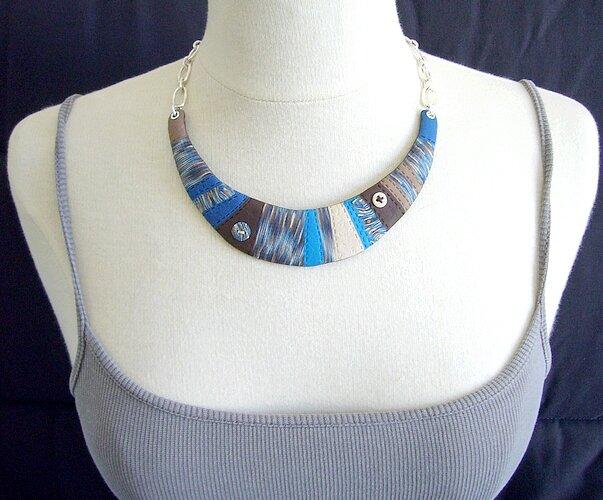 couture collier plastron manequin