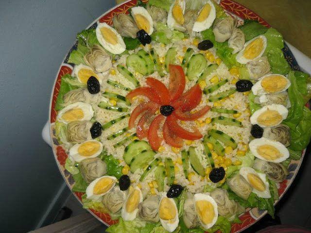 D core des salades mon savoir faire for Decoration salade