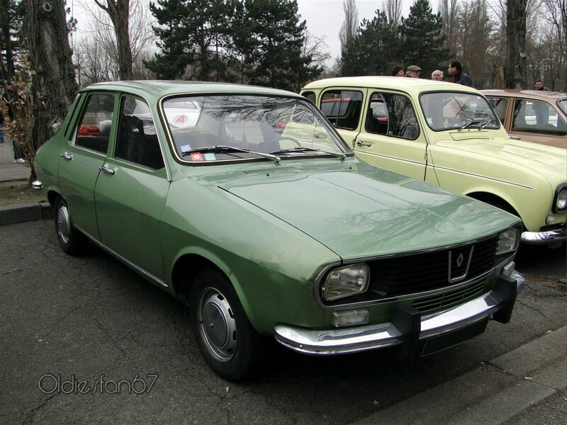 renault 12 tl phase 1 1969 1975 a