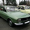 Renault 12 tl phase 1 - 1969 à 1975