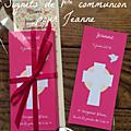Signets de première communion