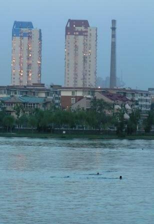 Baignade au parc d'eau de Tianjin (shuishang gongyuan)