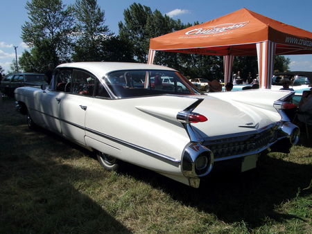 CADILLAC series 62 6window Hardtop Sedan 1959 Concentration de Vehicules Americains Ohnenheim 2011 2