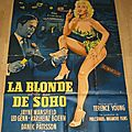 La blonde et les nus de soho (too hot to handle) affiche française