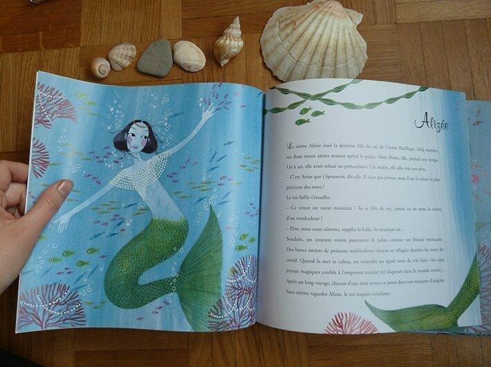 Histoires de sirènes - illustration de Charlotte Gastaut