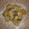 Tagine de choux fleurs et boulettes