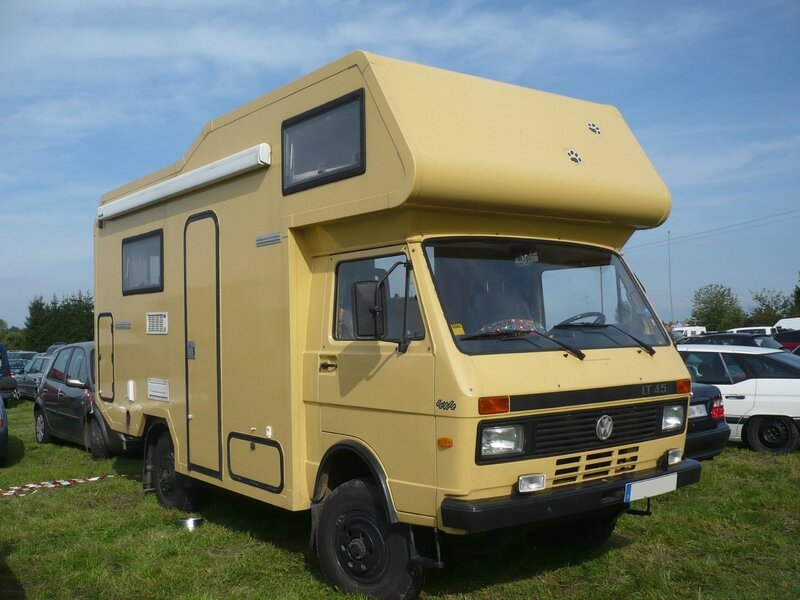 volkswagen lt 45 4x4 camping car vroom vroom. Black Bedroom Furniture Sets. Home Design Ideas