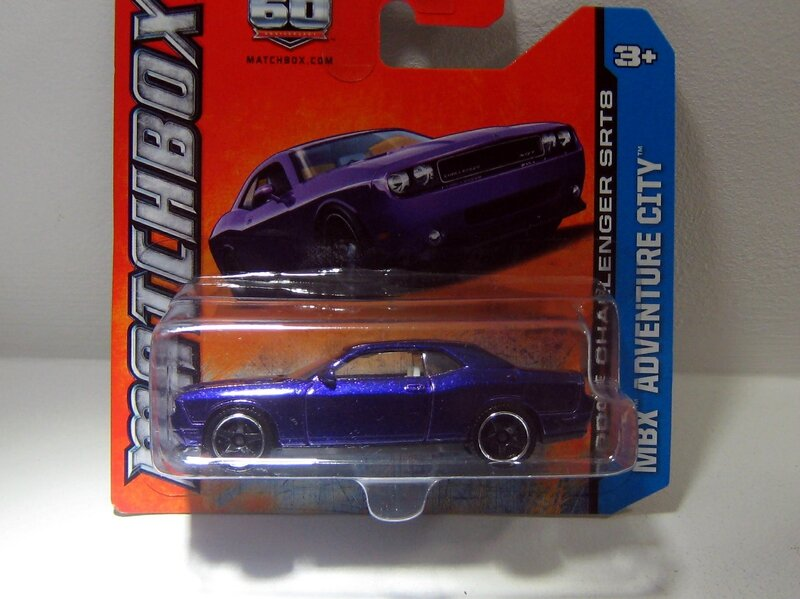Dodge challenger SRT8 (Matchbox)