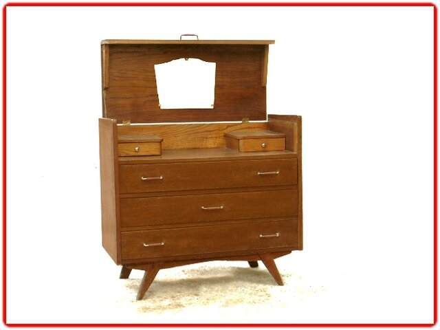 commode coiffeuse vintage (11)