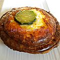 Quiches lardons, courgettes au pie&co