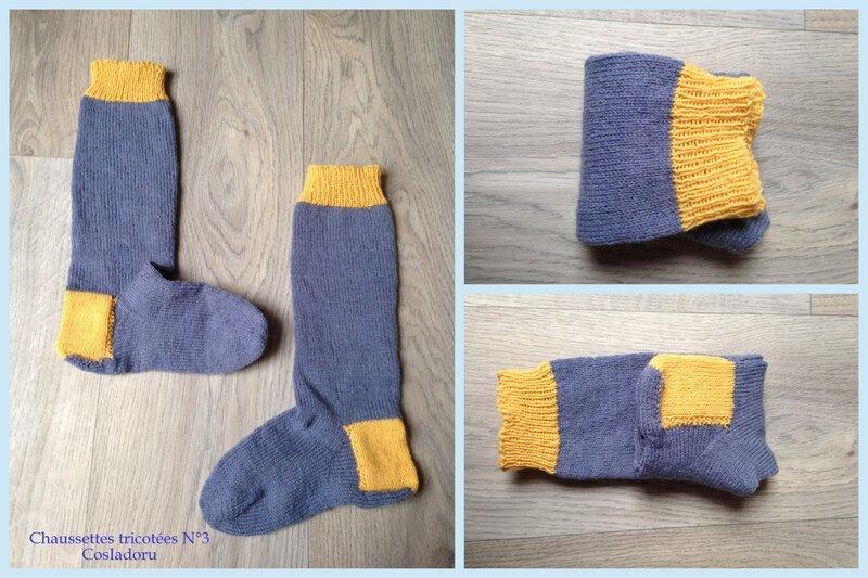 Chaussettes tricotées15