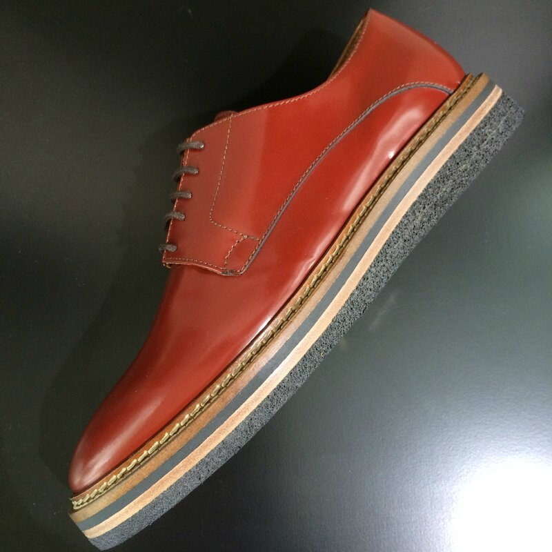 Maschiaccio derby low boots made in ITALY septembre 2015 Boutique Avant-Après 29 rue Foch 34000 Montpellier (3)