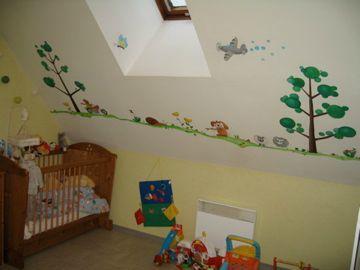 petite frise d 39 animaux photo de chambre d 39 enfants arts