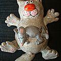 Chat-boîte souris dodo