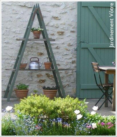 1 chelle ses 2 utilisations jardinement v tre. Black Bedroom Furniture Sets. Home Design Ideas