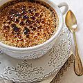 Crèmes brulées au chocolat noir et salon du livre gourmand à maurecourt