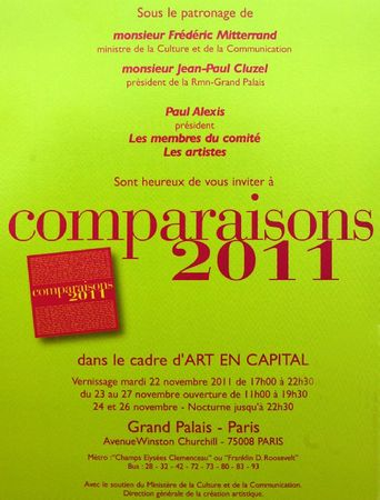 invitation comparaison salon 2012
