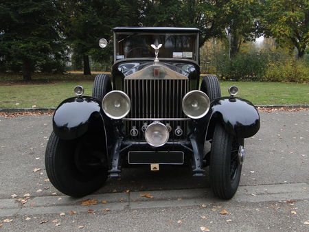ROLLS ROYCE Phantom I Hooper 1929 Retrorencard 1