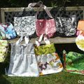 Collection de sacs en