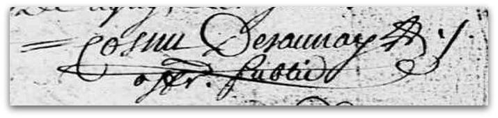 Cosnu Desaunay signature z