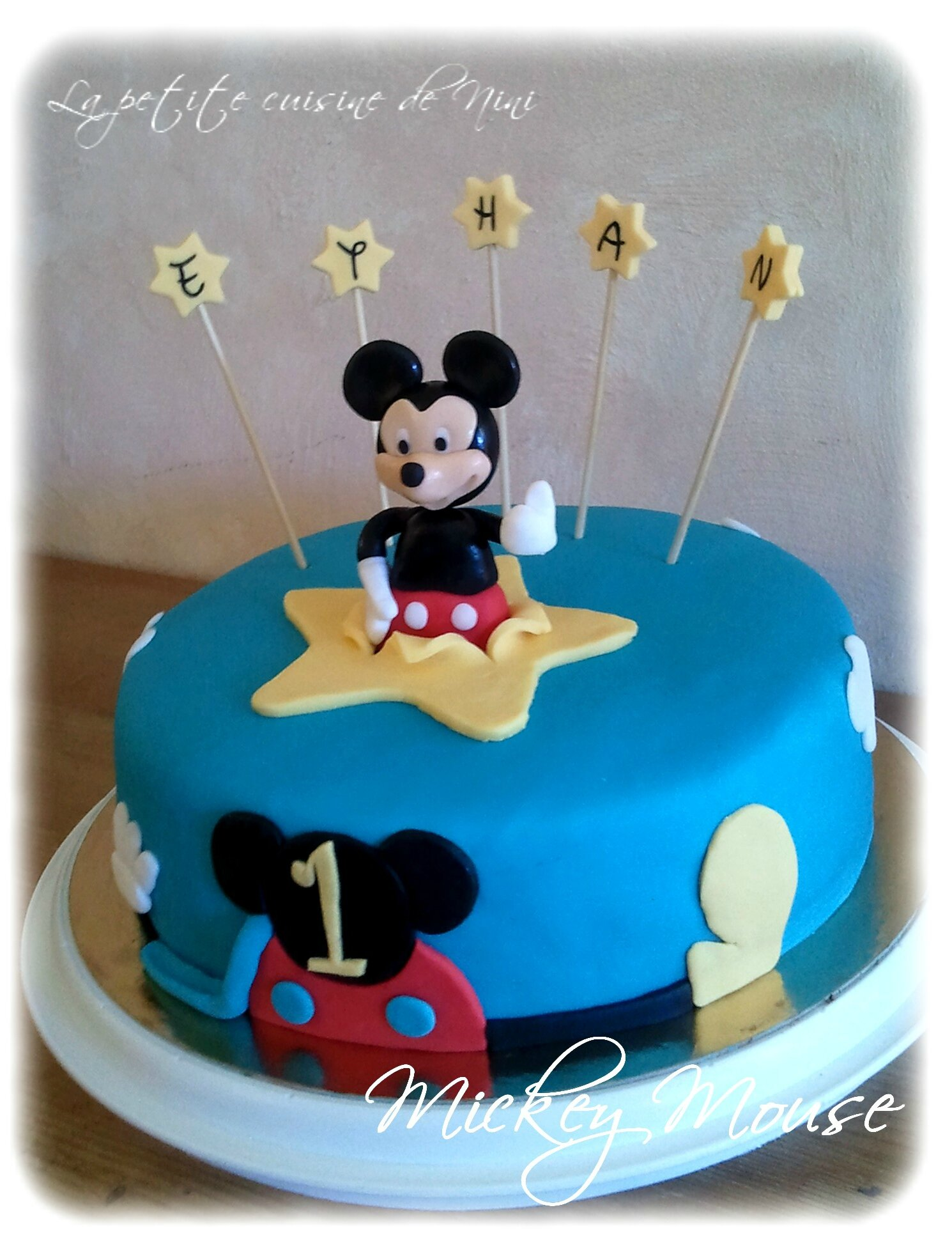 anniversaire24 gateau anniversaire mickey. Black Bedroom Furniture Sets. Home Design Ideas