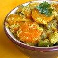 Parce que c'est bon pour le moral...curry de carottes