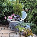 l'été au jardin