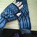 Winter twilight mitts by l rintala