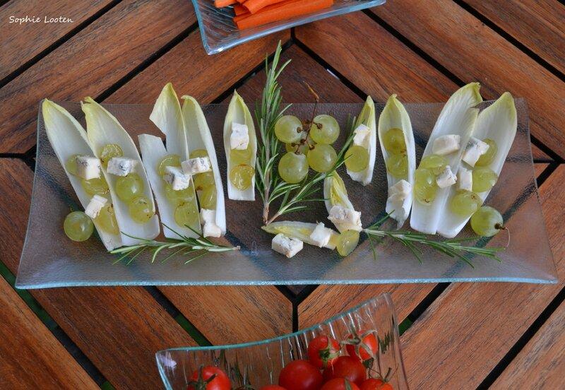 Bouchées raisin gorgonzola2