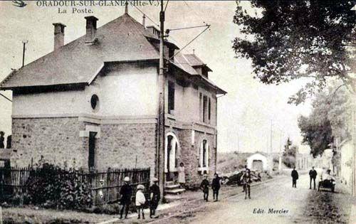 oradour-sur-glane La poste en 1940