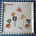 26 Plat aux tulipes