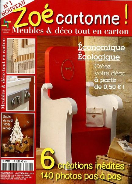 Couverture Zoé cartonne !