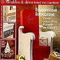 Le premier magazine trimestriel national pour créer son mobilier en carton !!!