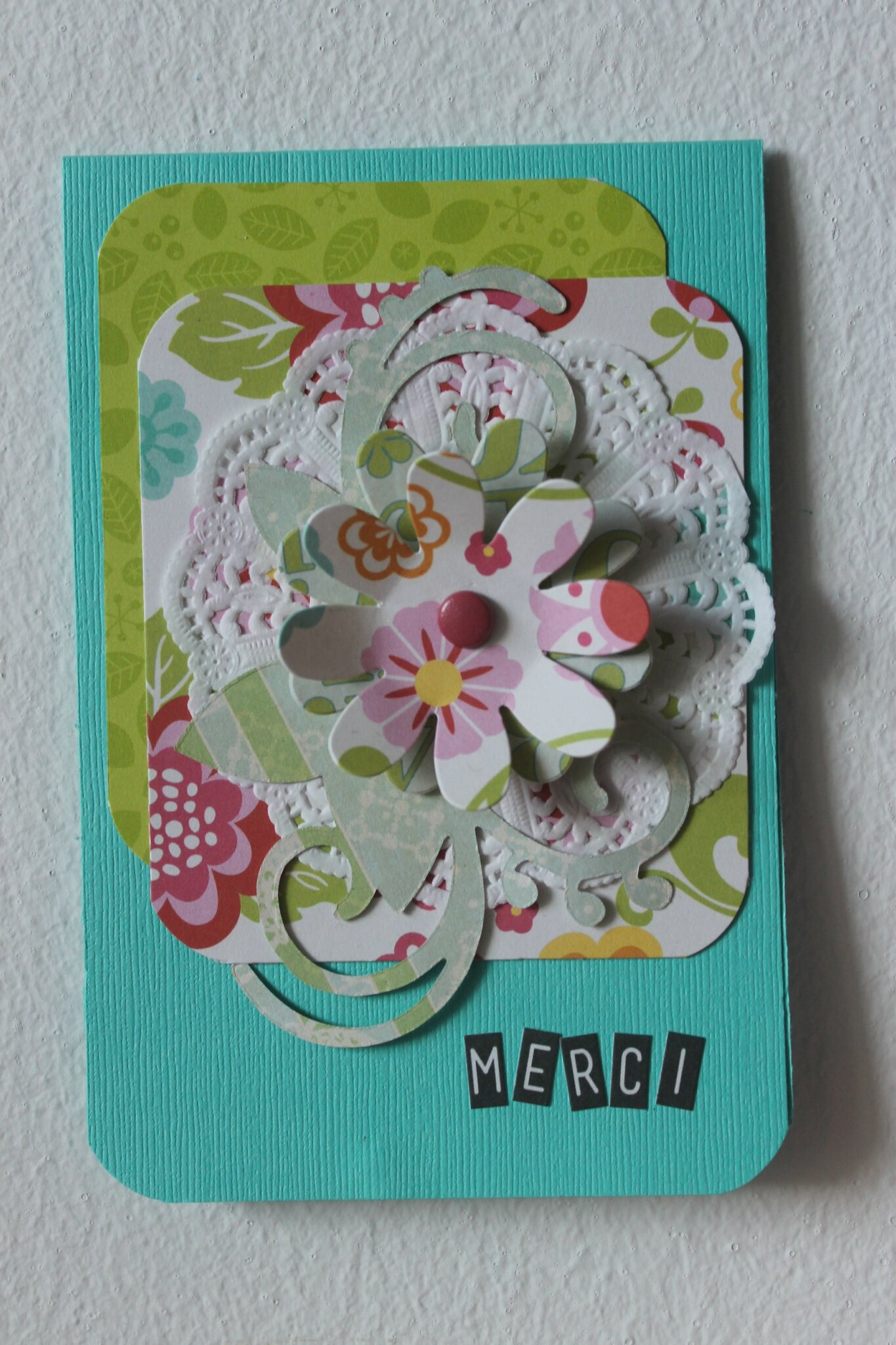 Thank you card/2014
