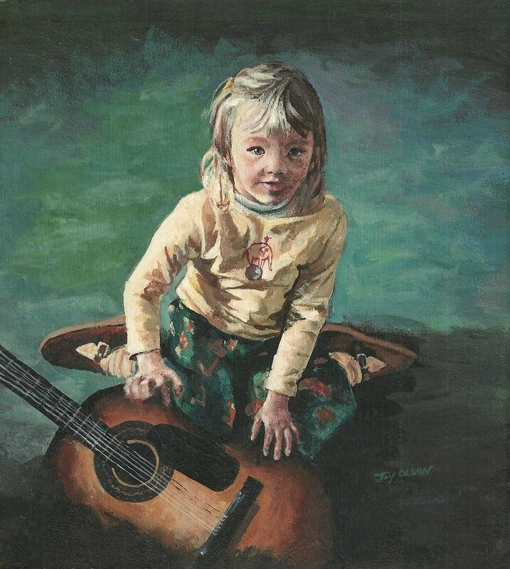musique little-girl-with-guitar-joy-nichols