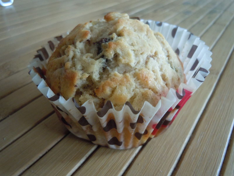 muffins bananes chocolat et cannelle