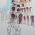 N°107-109 croquer rome / sketching rome