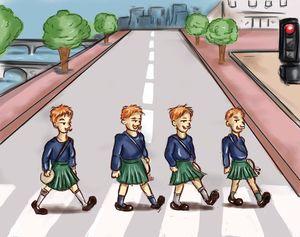 Scottish Abbey Road