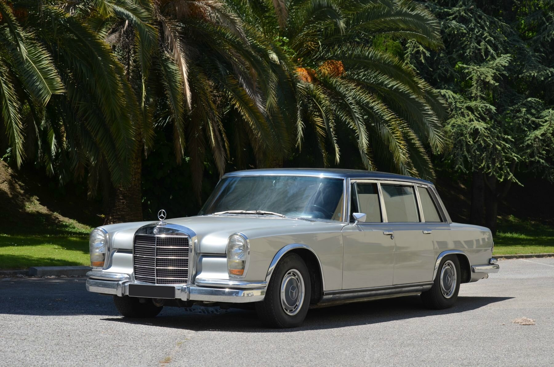 Ex Maria Callas - 1971 Mercedes-Benz 600 limousine