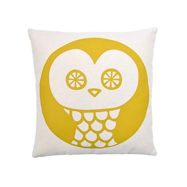 coussin-owl-ocre