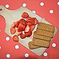 Dans ma cuisine // mascarpone & délice de fraise