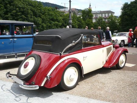 ADLER Trumpf Junior cabriolet 1936 Baden Baden (2)