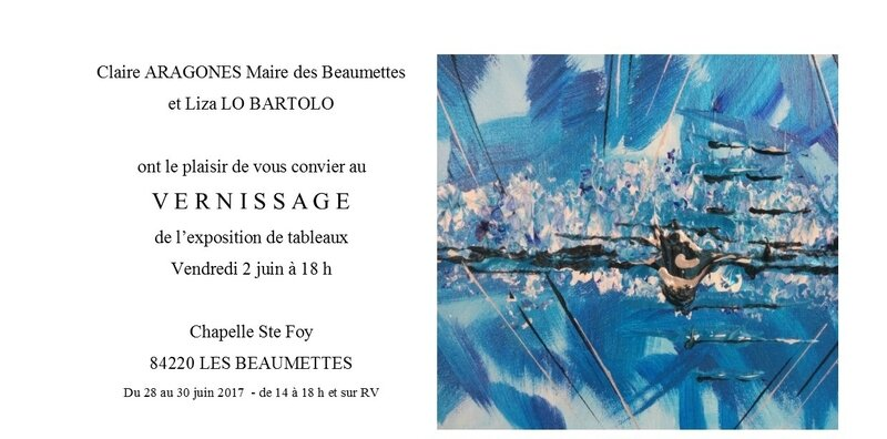 Invitations vernissage 1