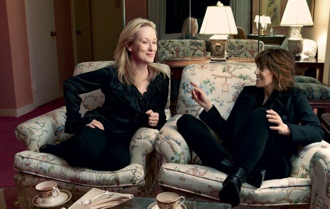 Meryl Streep et Nora Ephron